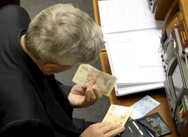Зарплата депутатів Верховної ради зросте на 93%
