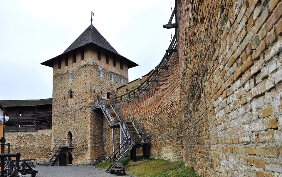 Луцький замок зняли для промокліпу України