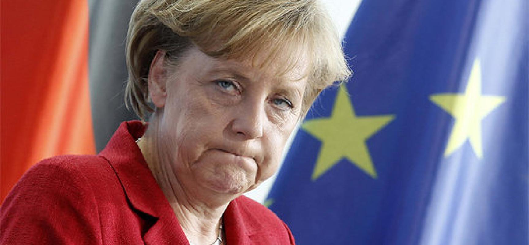 Соратники Меркель розкритикували її через ситуацію з біженцями