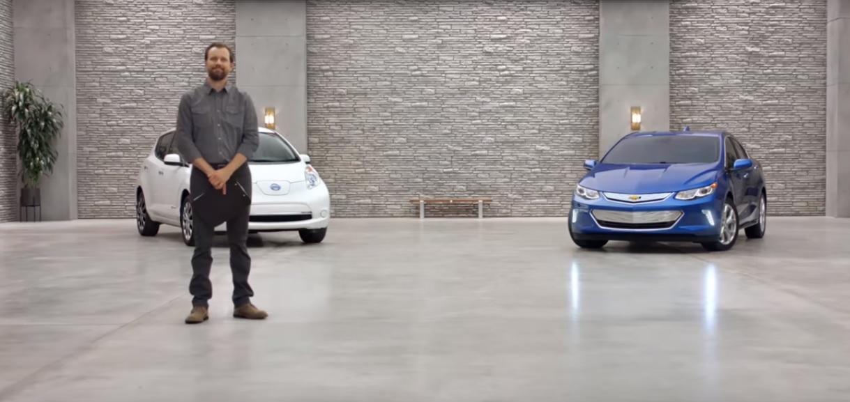 Компанія Chevrolet у незвичайний спосіб рекламує гібридний Chevy Volt