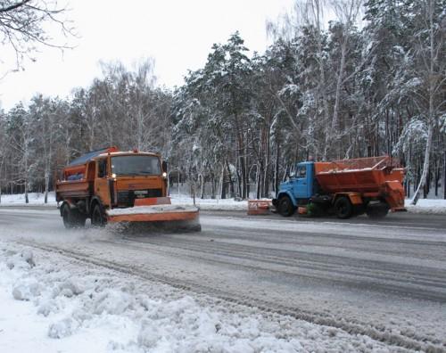 На Волині пального для снігозбиральної техніки вистачить лише на три доби