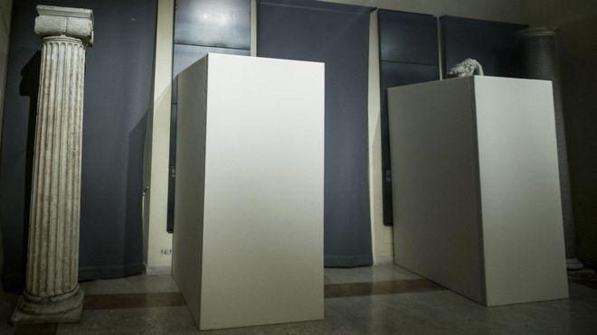 У римському музеї завісили оголені статуї перед приїздом Президента Ірану