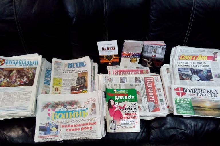 Волинську пресу читатимуть на Сході