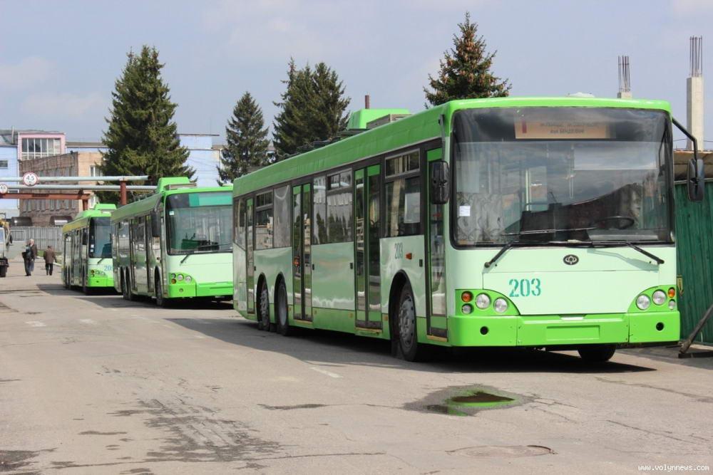 Заборгованість із зарплати  на Луцькому підприємстві електротранспорту  буде погашена до 1 березня