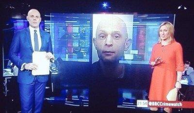Ведучий BBC виявився копією злочинця, про якого розповідав в ефірі