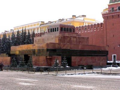 У Москві затримали пенсіонера з Білорусі, який облив фарбою Мавзолей