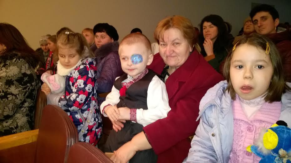 Рожище збирає гроші на лікування Арсенчика Васєчко