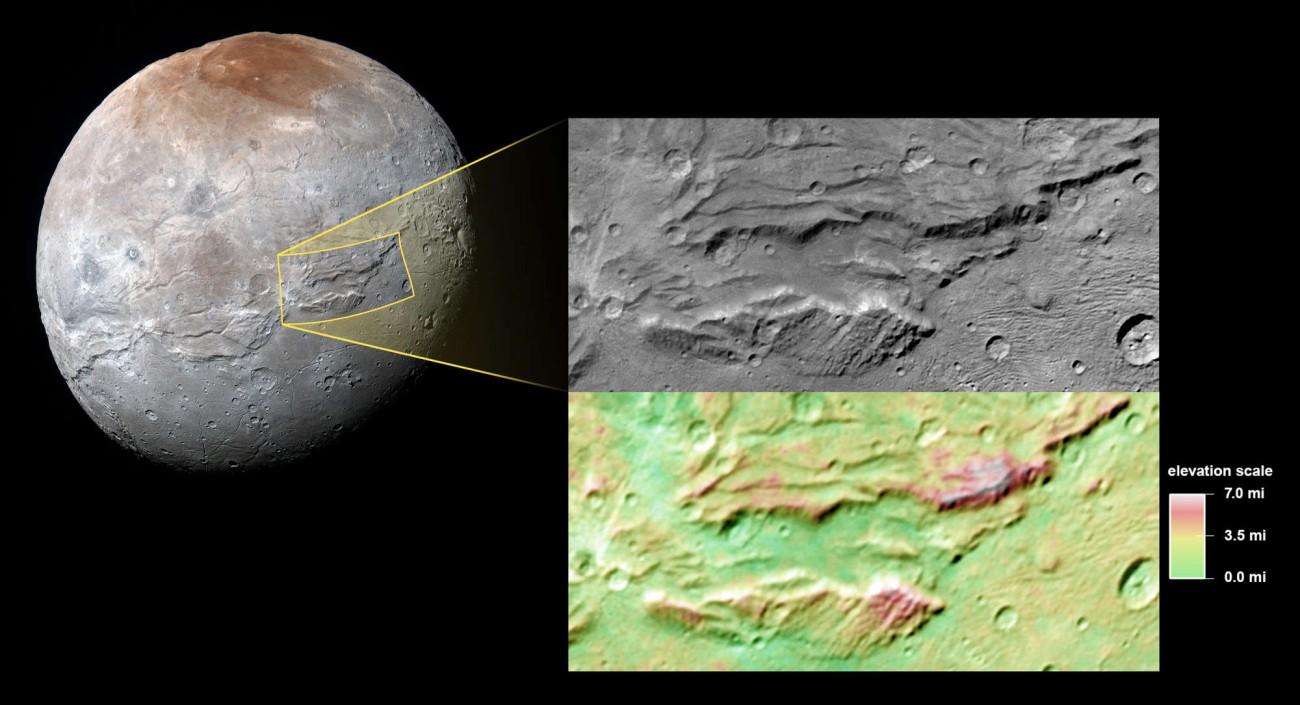 Супутник Плутона ледь не розірвало на шматки