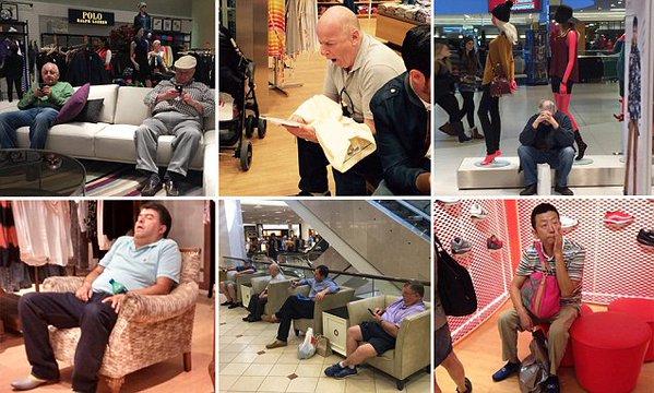 «Нещасні чоловіки на шопінгу» підкорили Instagram