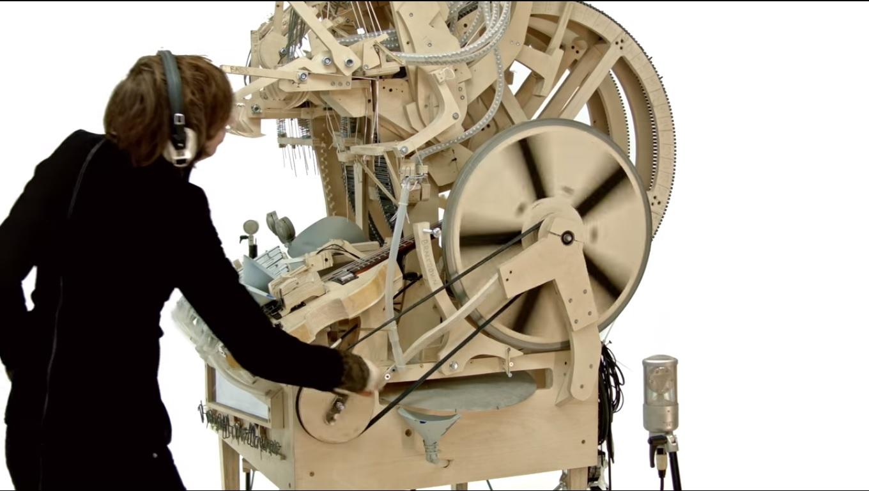 Шведська група Wintergatan  збудувала музичну машину з підшипників