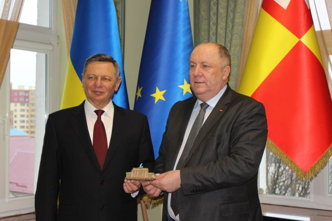 Луцьк активно працює в напрямку поглиблення співпраці з німецьким Краєм Ліппе