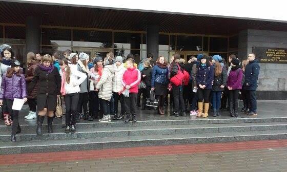Сьогодні в Луцьку відзначали 151-у річницю Дня Гімну України