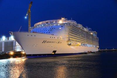 Найбільший круїзний лайнер у світі спущено на воду