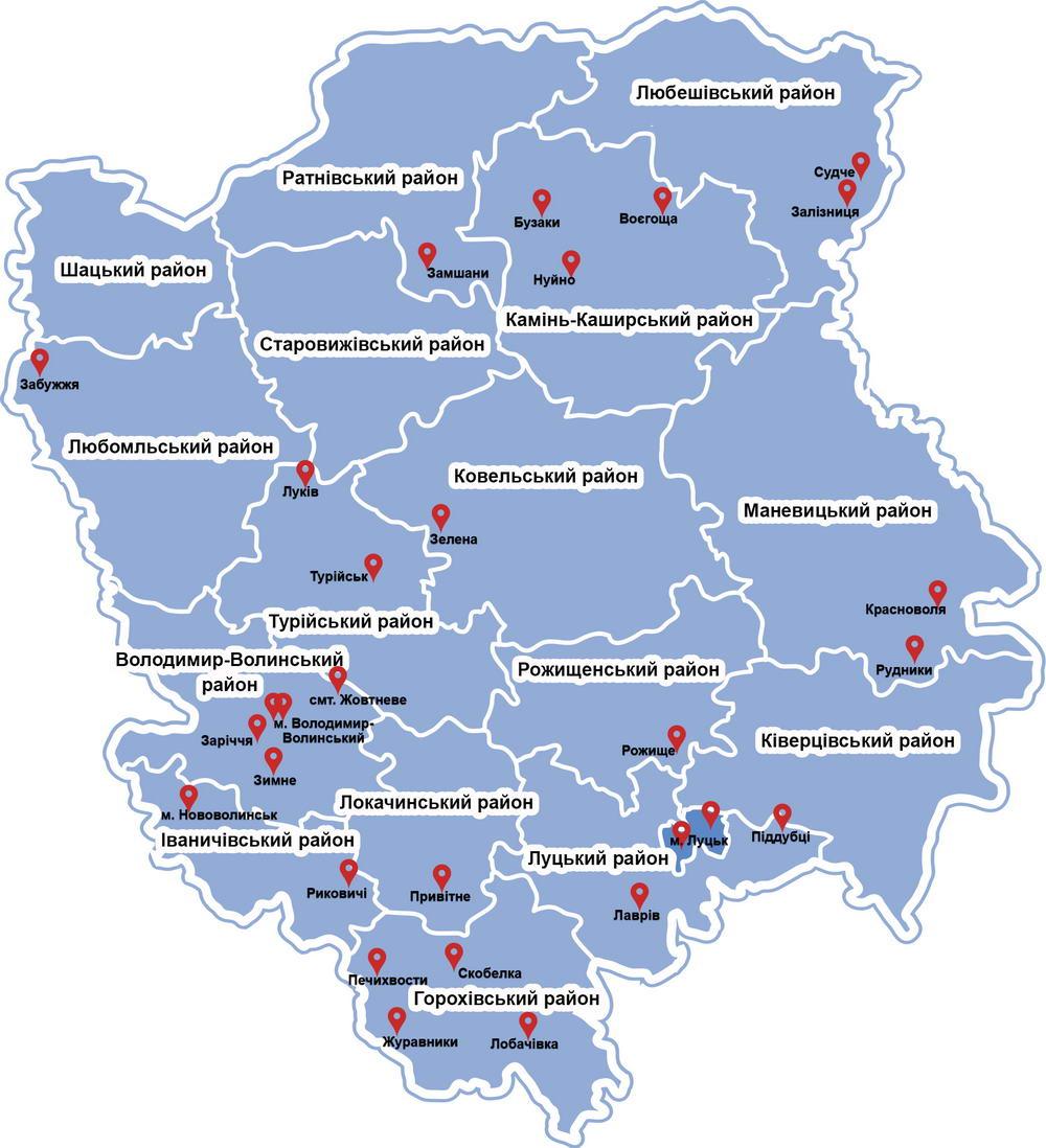 Цьогоріч на Волині з'явиться 31 нова амбулаторія