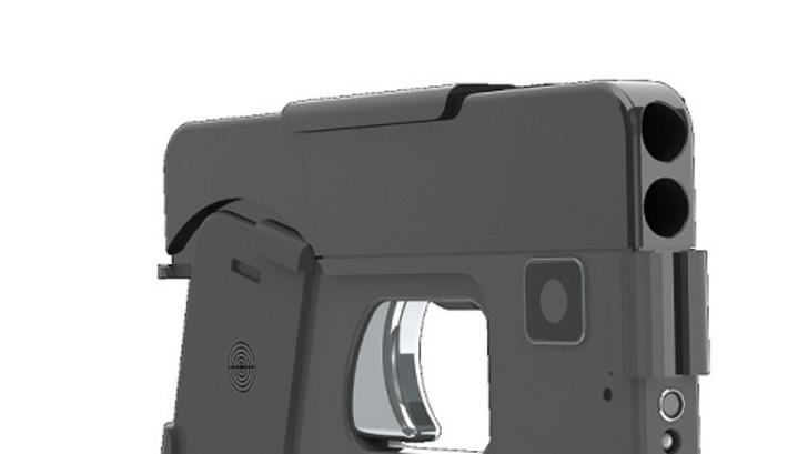 У США представили пістолет, замаскований під смартфон