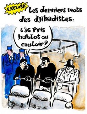 Журнал Charlie Hebdo опублікував карикатуру на теракти в Брюсселі