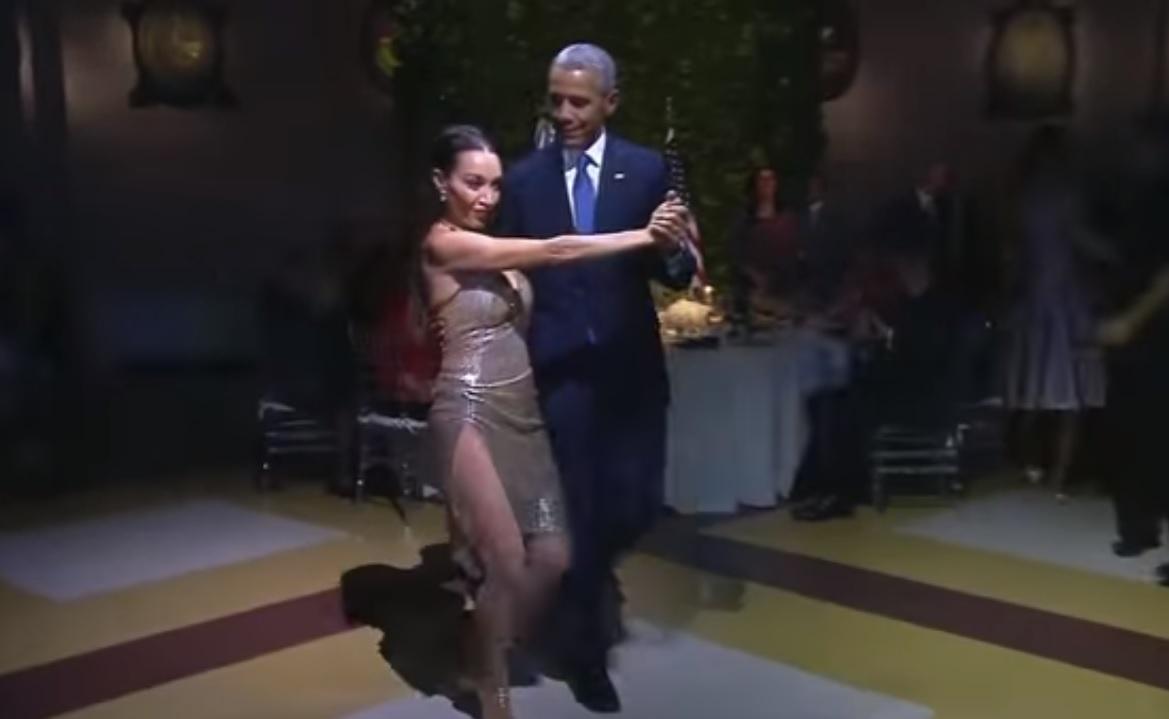 Обама станцював аргентинське танго (відео)
