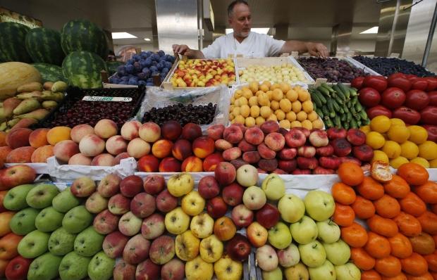 Росія хоче ввести заборону на всі овочі і фрукти з Туреччини