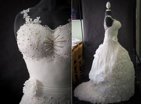Створено першу в світі їстівну весільну сукню
