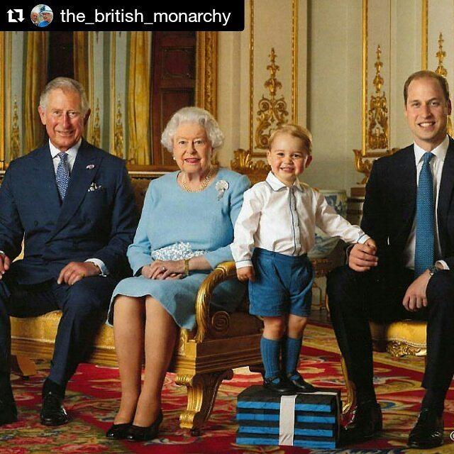 Королівська пошта Британії випустила марки з фотографією Єлизавети II, її сина, внука та правнука