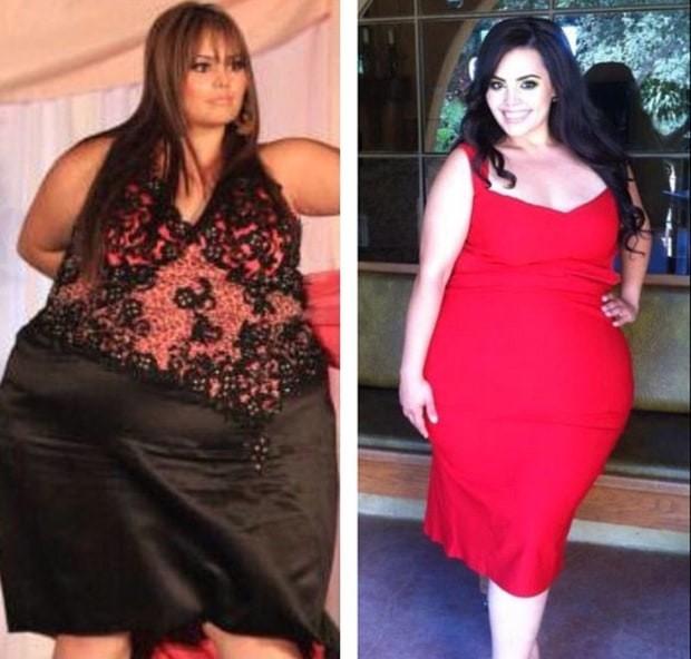 Плюс-сайз модель Розі Меркадо схудла на 108 кг