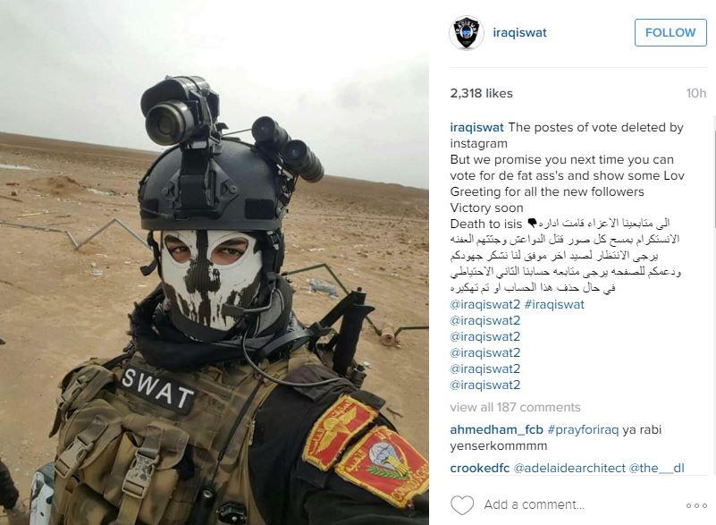 Іракські військові вирішували долі полонених бойовиків ІДІЛ голосуванням у Instagram