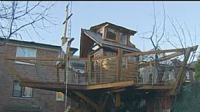 Житель Торонто бореться за збереження побудованого ним будинку на дереві