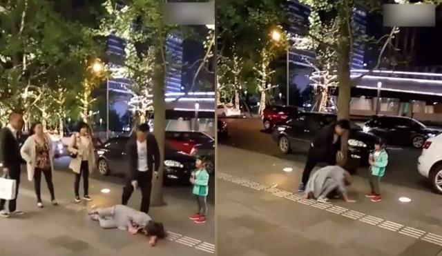 Відео з китайцем, який б'є свою дружину на вулиці,  викликало скандал в Інтернеті