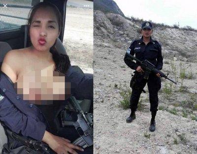 Звільнена за топлес-селфі співробітниця мексиканської поліції стала стриптизеркою