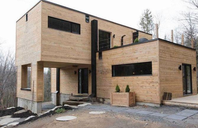 Мешканка Канади купила 4 вантажні контейнери і перетворила їх у приголомшливий будинок