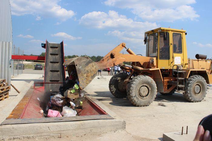 На полігон у Брище заборонено вивозити деревину та гілля