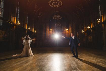 Британська пара влаштувала весілля в стилі фільмів про Гаррі Поттера