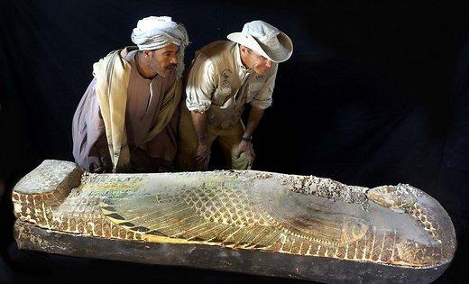 В єгипетському саркофазі знайдено могилу муміфікованого зародка