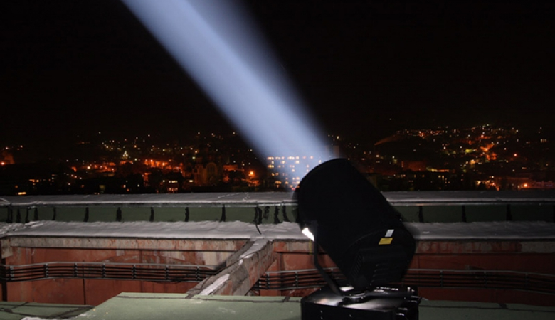 У Росії цирк встановив лазерні установки поблизу злітно-посадкової смуги міжнародного аеропорту