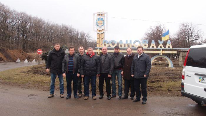 Луцький міський голова поїхав на схід, щоб вшанувати  лучан-військовослужбовців, які загинули під Волновахою