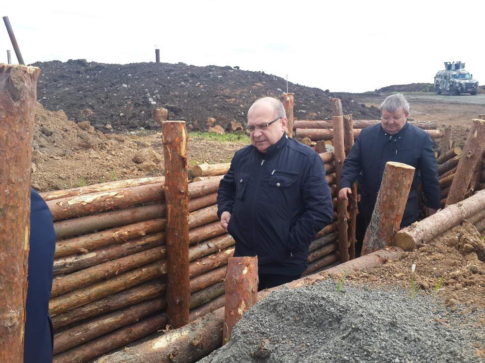 Міністерство оборони України та Президент відзначили роботу волинських будівничих