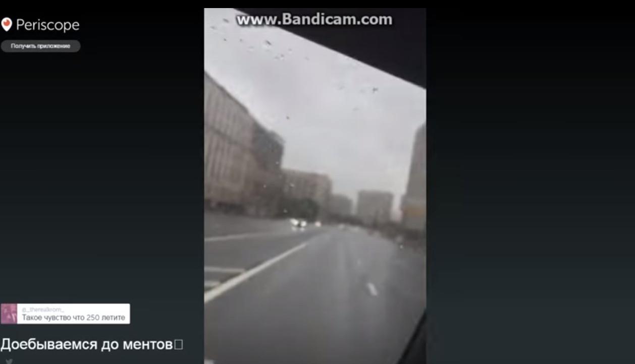 Син віце-президента «Лукойла» влаштував відеотрансляцію переслідування його дорожньо-постовою службою Москви (відео)