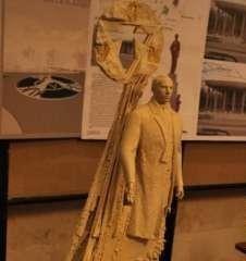 Пам'ятник Бандері у Луцьку стоятиме на освяченому місці