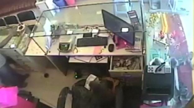 Мавпа пограбувала ювелірний магазин в Індії (відео)