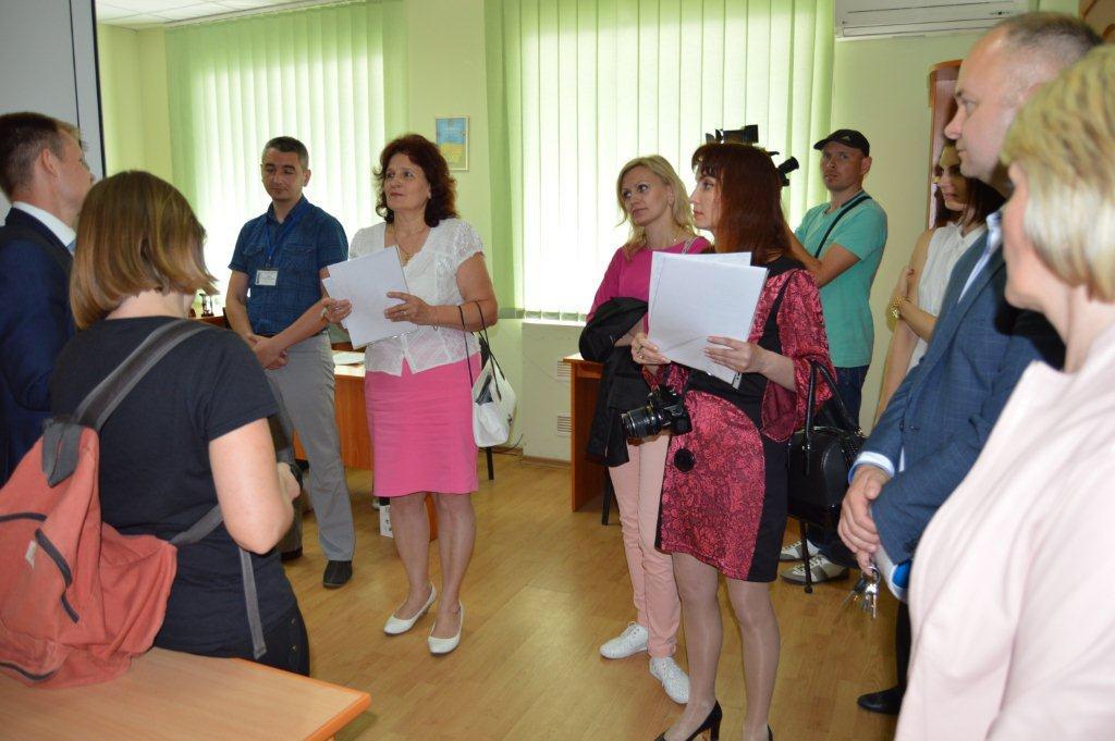 Судді Луцька налагоджують ефективну комунікацію з місцевими журналістами