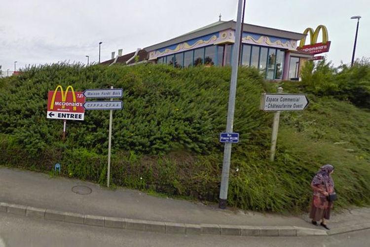 Французькі грабіжники напали на McDonald's, коли там вечеряли спецназівці