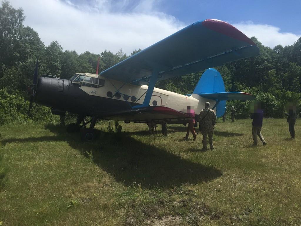 На Волині СБУ вилучила літак контрабандистів