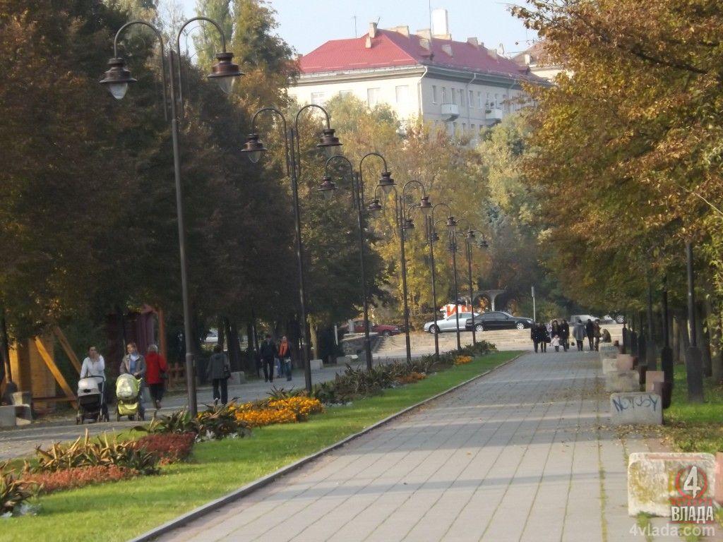 Центральний парк Луцька осучаснять до рівня європейського