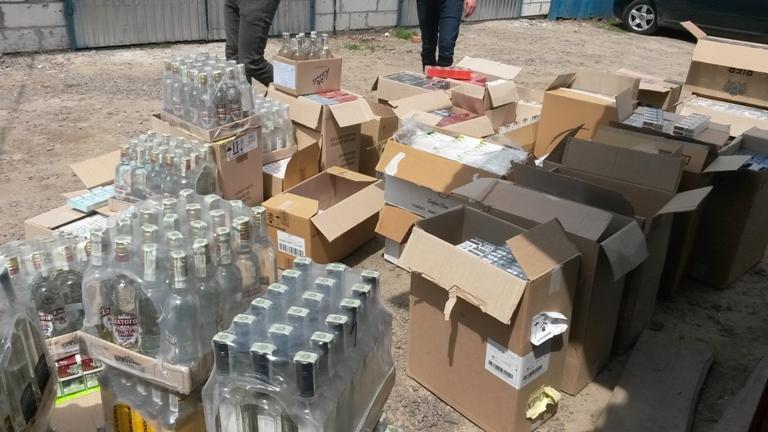 На Волині вилучили підакцизних товарів на 200 тисяч гривень