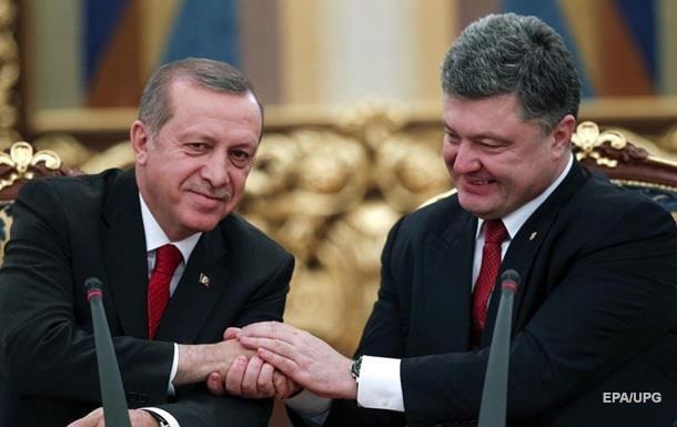 Ердоган пообіцяв Порошенко не визнавати Крим російським