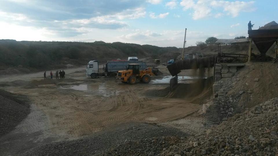 На Одещині викрили незаконний видобуток піску у промислових масштабах