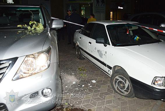Затримано лучанина, який підірвав гранату поблизу розважального центру в місті