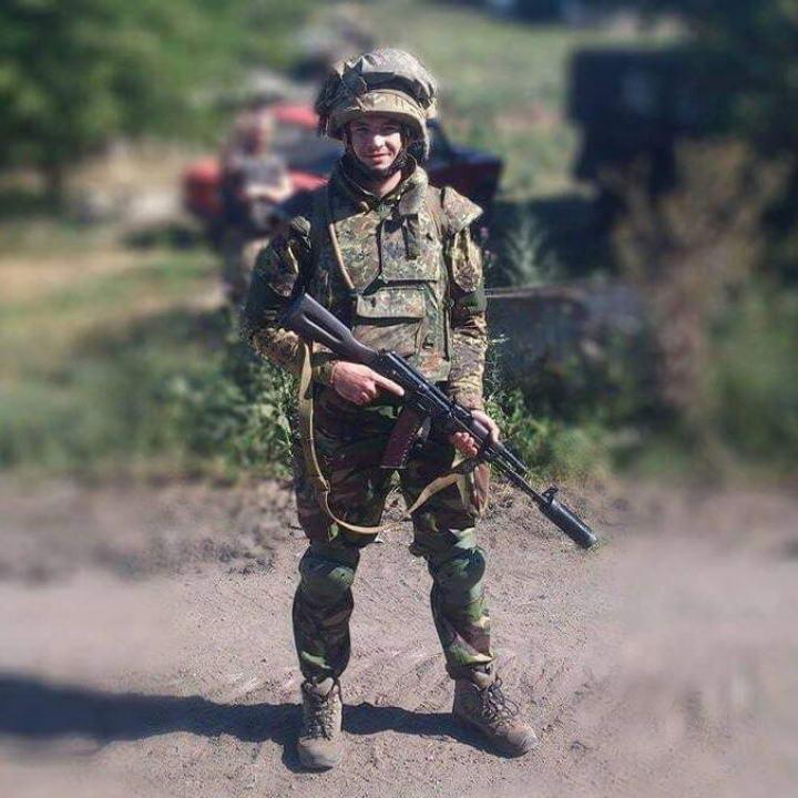 22 лютого Луцьк попрощається зі своїм Героєм - загиблим  військовим Максимом Гринчишиним