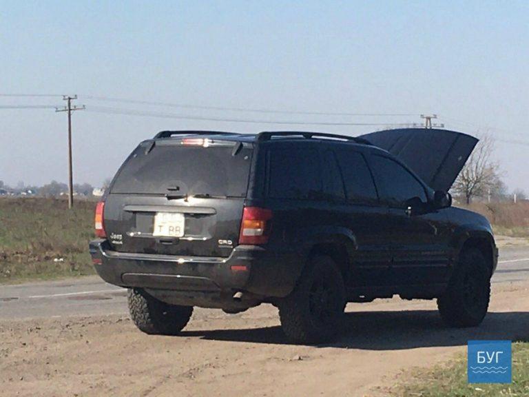 На дорозі Володимир-Волинський - Устилуг затримано автомобіль ЛНР  з інспектором контрабандного відділу Ягодин