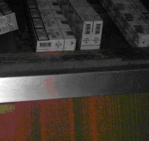 У потягу міжнародного сполучення знайдено контрабандні цигарки